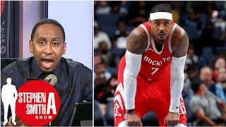 Stephen A. adamant Carmelo Anthony has to start for Rockets | Stephen A. Smith Show