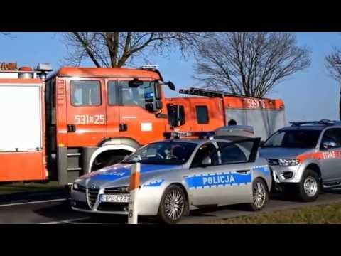 Straż Pożarna w akcji / Fire Brigade in action
