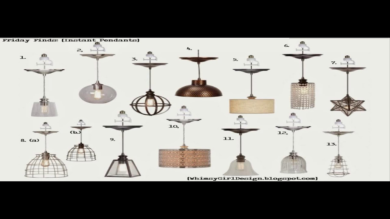 Instant pendant light conversion kit lowes youtube instant pendant light conversion kit lowes aloadofball Choice Image