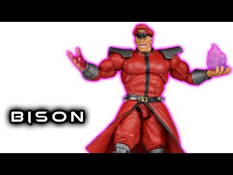 Storm Collectibles M. BISON (Vega) Street Fighter V Action Figure Toy Review