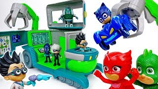 Romeo's Super Lab Appeared~! Go Go PJ Masks - ToyMart TV