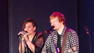 "Ed Sheeran and Demi Lovato - ""Give Me Love"" Live (HD)"
