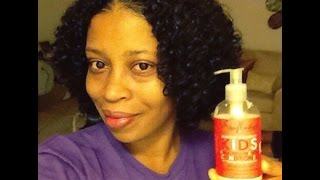Shea Moisture: Mango & Carrot KIDS Extra Nourishing Conditioner|Review
