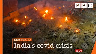 Covid-19 in India: A country struggling to breathe @BBC News live 🔴 BBC
