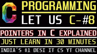 Pointers In C | C Programming Tutorial | Learn C programming | C language Information Assistant