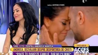 Cristi Mitrea, fostul iubit al Andreei Mantea, relateaza ce isi doreste de la o femeie