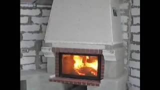 Каминное воздушное отопление