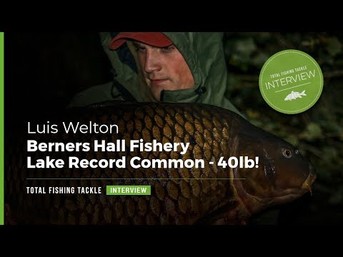 Berners Hall Fishery | Lake Record Common | Buster At 40lb