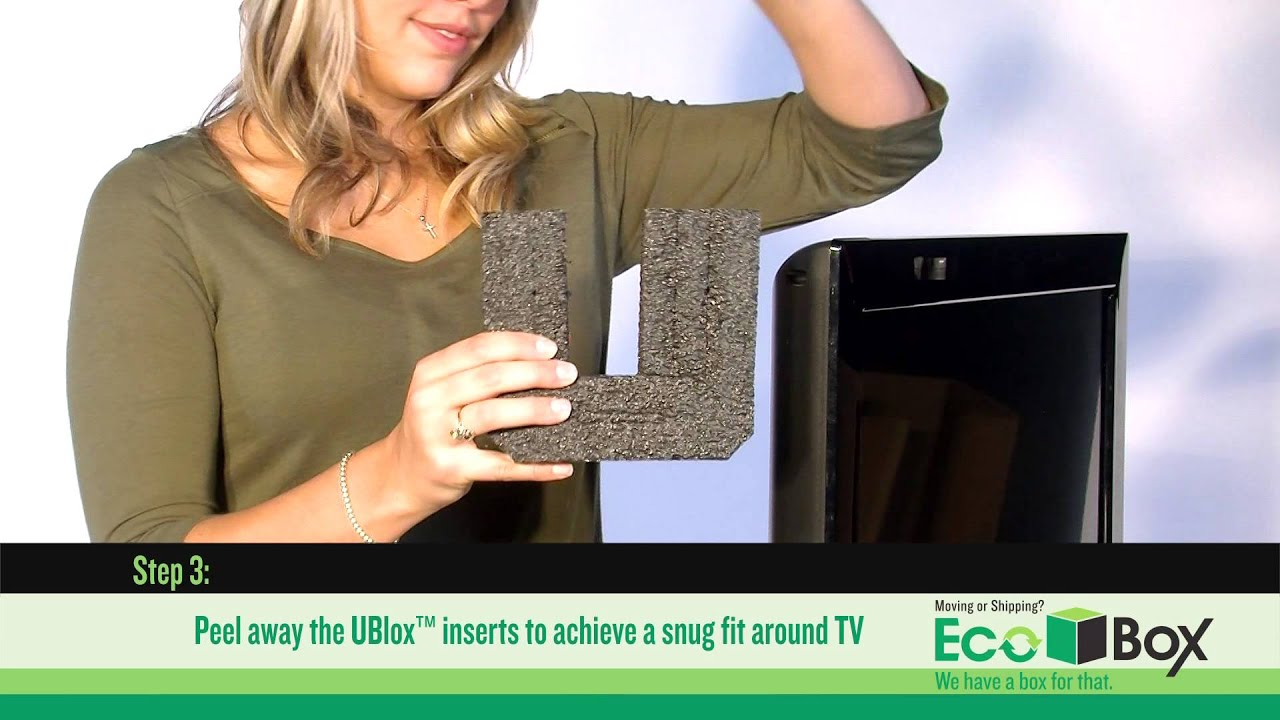 Pack and Ship your Flat Panel TV with EASE