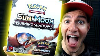 SUN and MOON Pokemon BURNING SHADOWS Booster Box Opening! Pokemon Cards Opening with Leonhart Part 2