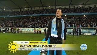Därför var Zlatan tillbaka i Allsvenskan - Nyhetsmorgon (TV4)