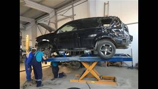 Mitsubishi Outlander. Кузовной ремонт.