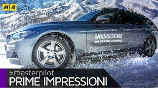 """Bridgestone Blizzak LM005   Le invernali """"italiane"""" OK per neve e pioggia"""