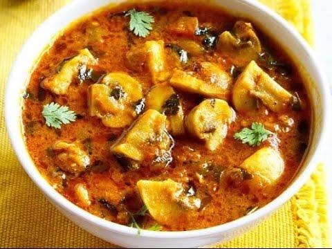 Mushroom Masala || Kadai Mushroom || Easy Indian Recipes