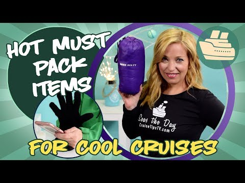 HOT Must Pack Items For The Modern Alaska Cruiser