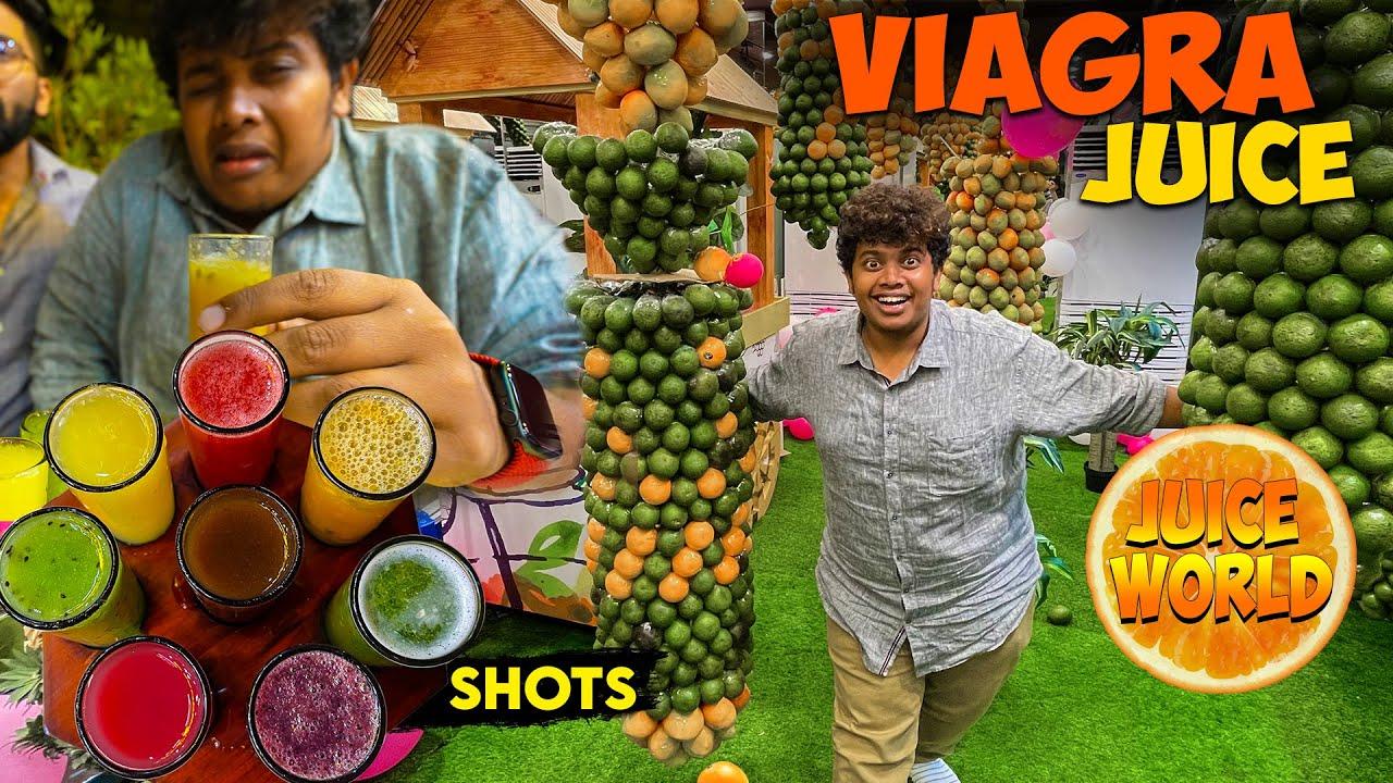 Super Viagra in Juice World - Last Vlog in Dubai - Irfan's View