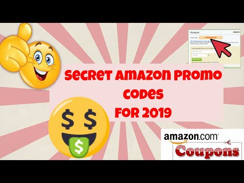 Secret Amazon Promo shopping codes for 2019!