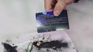 איך לחשוף קוד מגנטי סודי בכרטיסי אשראי?