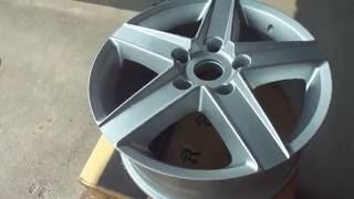Литые диски на Jeep Wrangler(Доставили заказ в Ульяновск Литые диски REPLAY CR5 R17 на Jeep Wrangler Цена - 6250 руб.