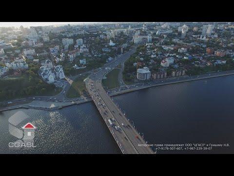 Аэросъемка города Воронеж (панорама)