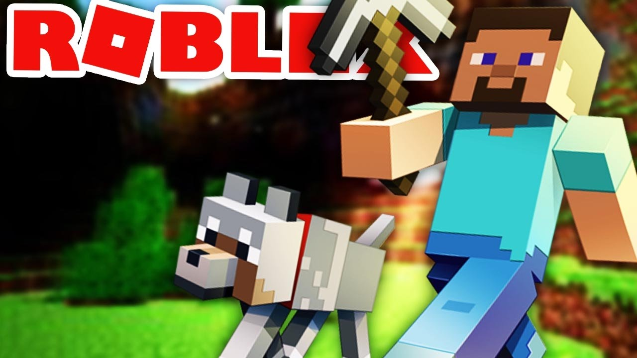 MINECRAFT In ROBLOX Roblox YouTube
