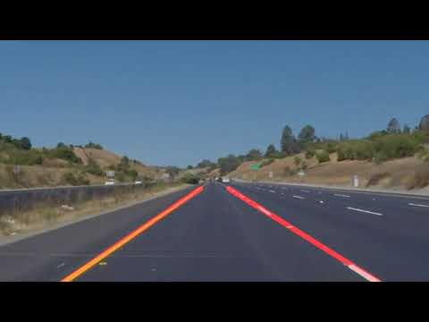 Self-Driving Car Engineer Nanodegree Program - Line Lines Detector Project - Solid Yellow Left