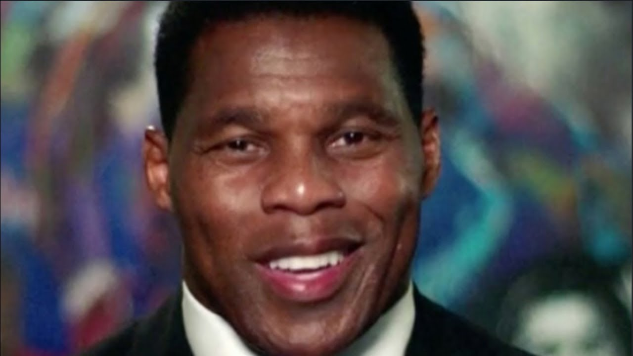 Football Head Herschel Walker throws block for Trump and Gets ran over!