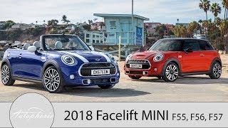 2018 Facelift Des Mini 3-Türer, Mini 5-Türer Und Mini Cabrio [4k] - Autophorie
