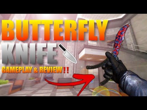 Forward Assault Butterfly Knife Gameplay & Review‼️