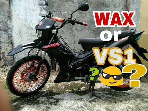 MotoVlog 019 : How I Maintain my Bike CLEAN and SHINE. WAX or VS1 ??😏