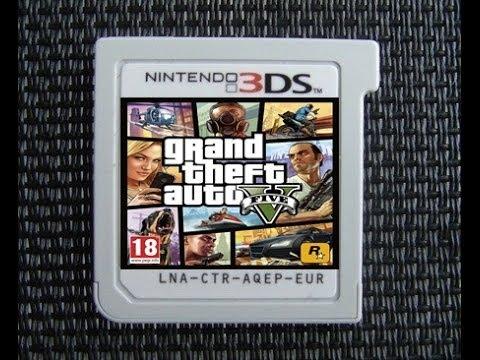 Mettre GTA V sur 3DS
