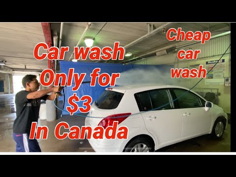 Car Wash Only For $3| Cheap Car Wash In Canada