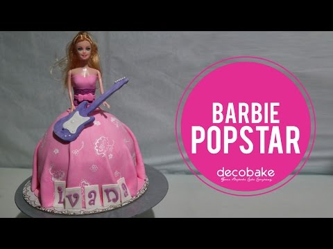How to make Barbie Popstar Cake
