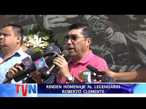 RINDEN HOMENAJE AL LEGENDARIO ROBERTO CLEMENTE