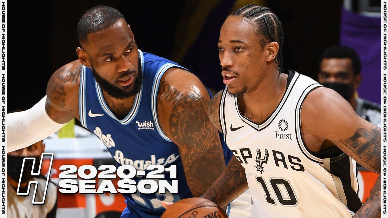 Download San Antonio Spurs vs Los Angeles Lakers - Full Game Highlights | January 7, 2021 NBA Season