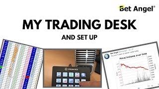 Peter Webb - Bet Angel - My trading desk & setup
