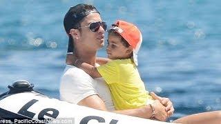 Cristiano Ronaldo with son Cristiano jr photos 2012 part 1