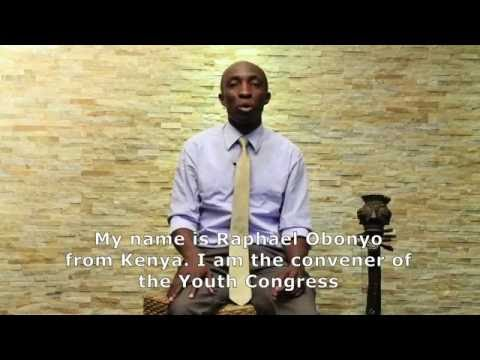 Raphael Obonyo asks UN Secretary-General candidates about bringing youth leadership into the UN