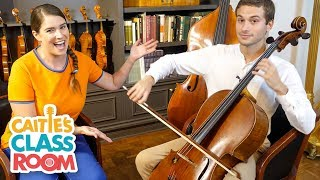 Caitie Celebrates Glenn Gould's Birthday with Cello Player Daniel Hass!