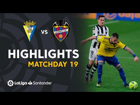 Cadiz Levante Goals And Highlights