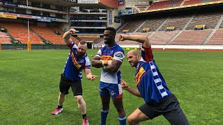 Sheamus & Cesaro play rugby in Cape Town, South Africa