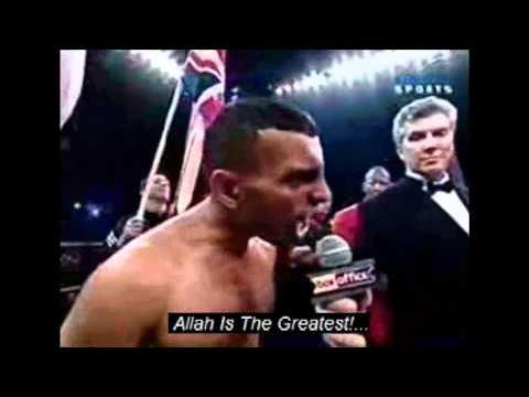 Prince Naseem Shouting Out The Takbir In The Ring!