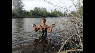 Рыбалка ВОТ ЭТА ЛУЖА ЧТО В НЕЙ ТОЛЬКО НЕТ