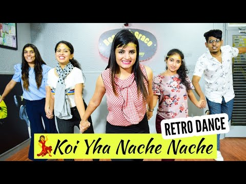 Download Koi Yahan Nache Nache / 90s Bollywood hit songs |  Dance by Beauty n Grace Dance |Pooja Chaudhary