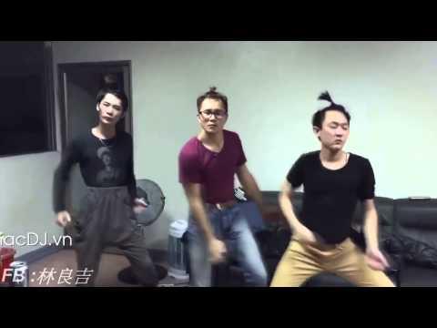 3 thím nhảy cover ABC song - Bài nhảy vui nhất Thái Lan 2015