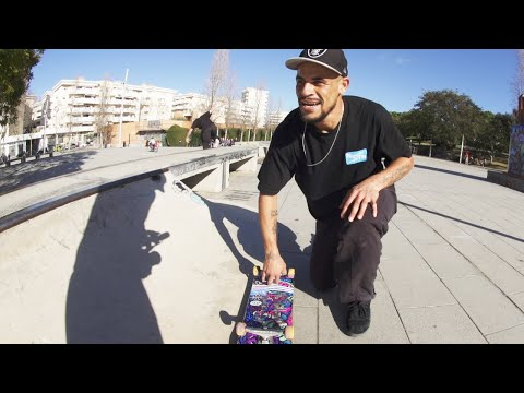 SKATING BARCELONA WITH BLAKE JOHNSON! Screaming Vlog 24 | Santa Cruz Skateboards