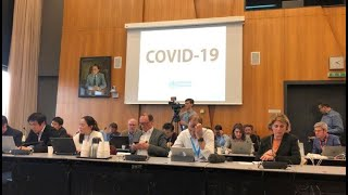 WHO officially names new virus disease Covid-19