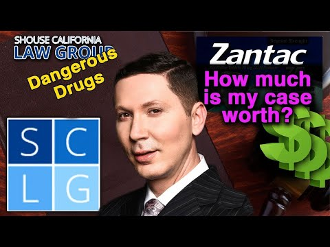 How much is my Zantac lawsuit worth?