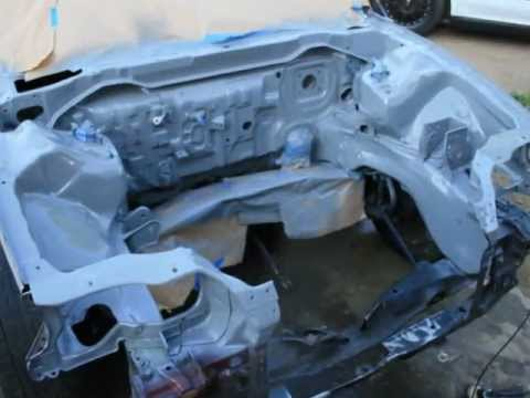 91 Civic Sedan Shaved And Tucked Bay Pt1 Youtube