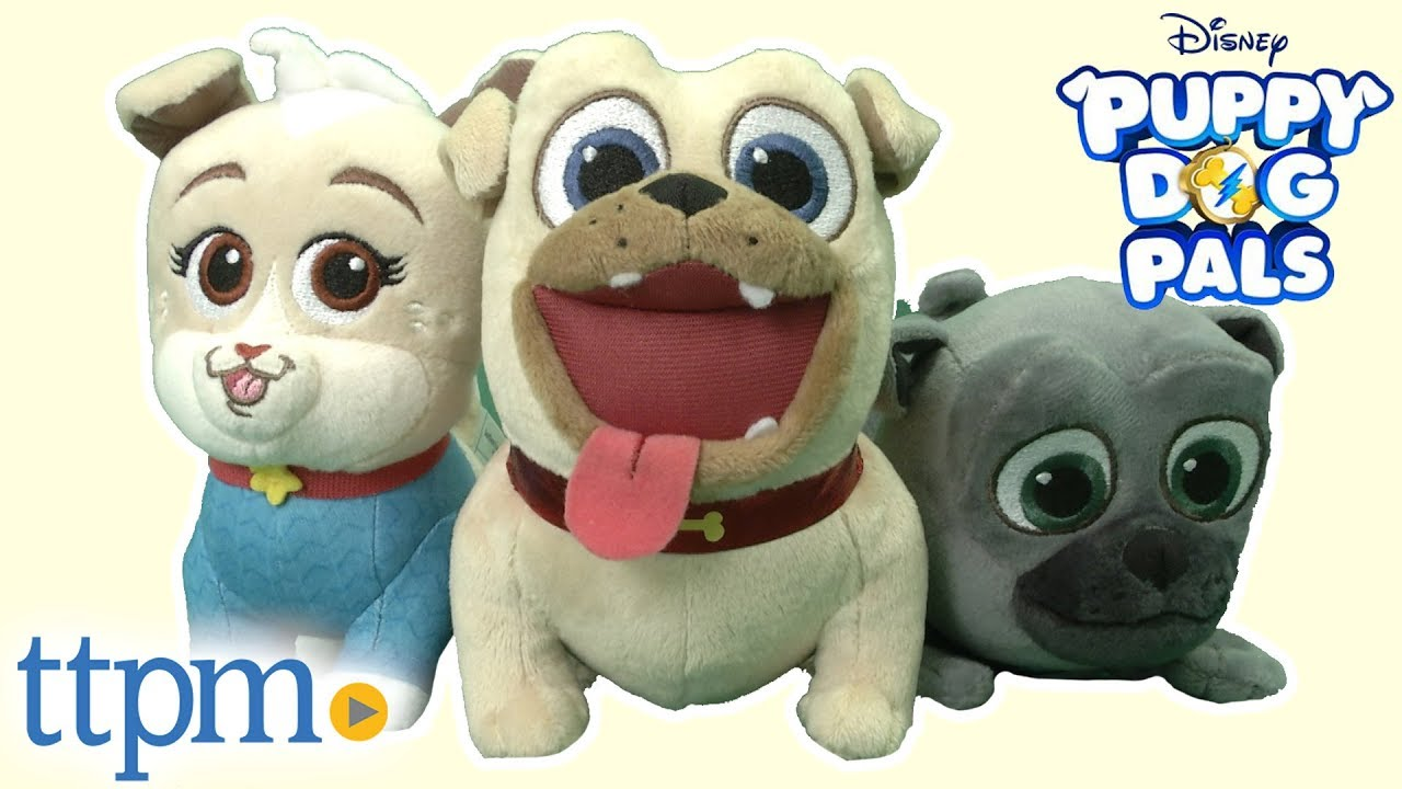 Puppy Dog Pals Bingo Rolly And Keia Plushes From Just Play Youtube